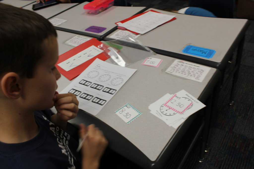 K-1 ESSDACK Math Cards