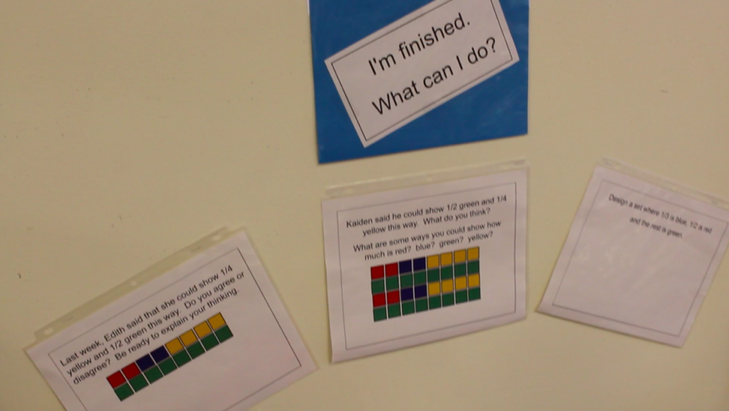 Other ideas for the math classroom.